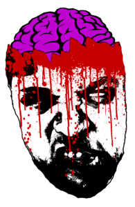 Artist Self-Portrait (Zombified)
