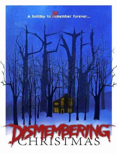 Dismembering Christmas limited VHS cover art