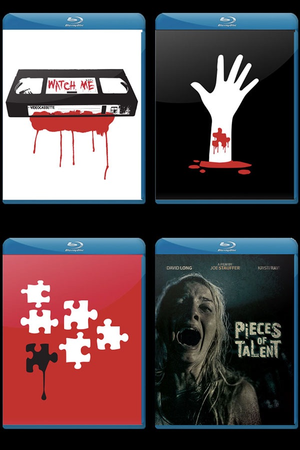 Pieces of Talent Blu Rays
