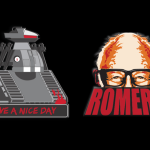 Limited Chopping Mall and George Romero Pin Designs