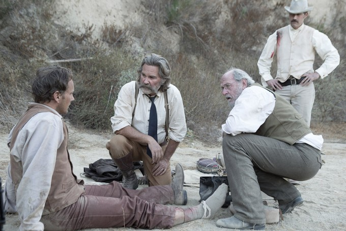 On the set of Bone Tomahawk