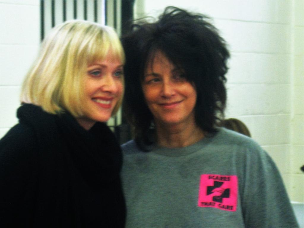 Barbara Crampton and Debbie Rochon