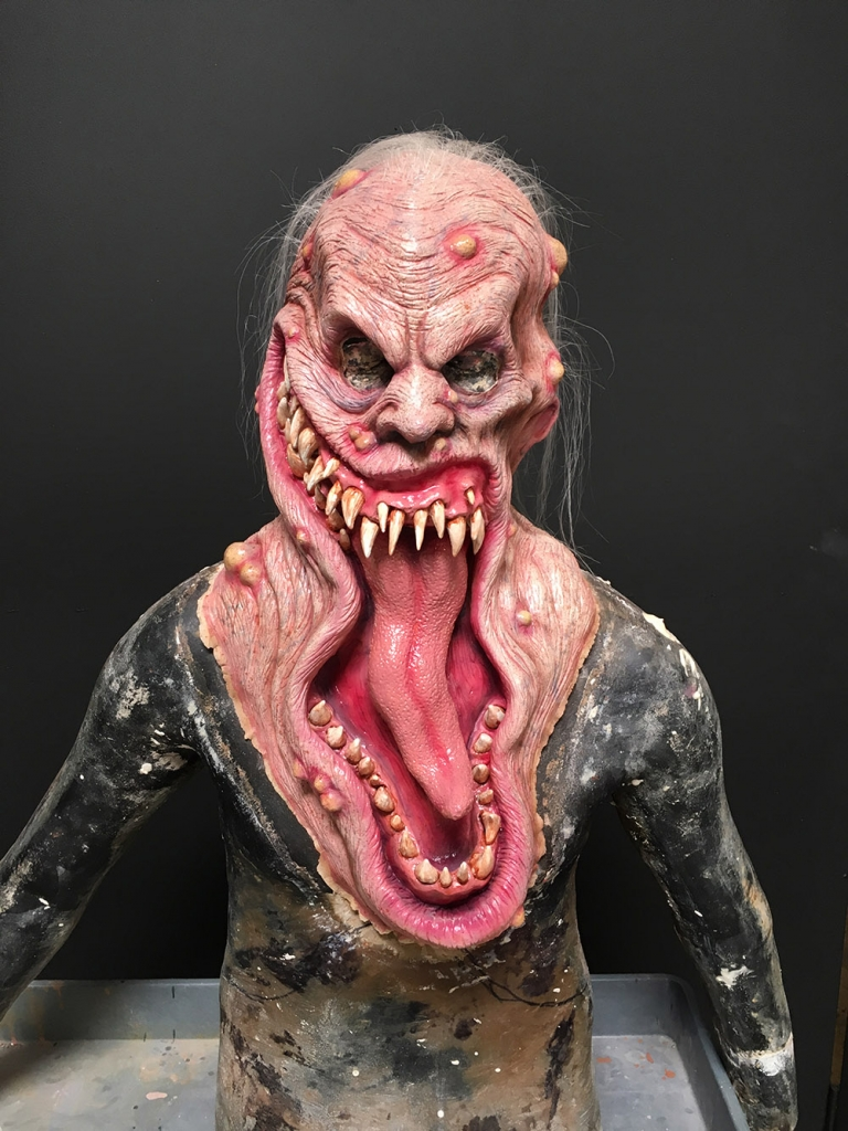 Boneyard Mask- Mouth for Toxicity