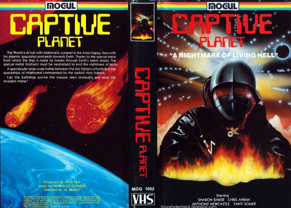 Captive Planet US Mogul Communications VHS