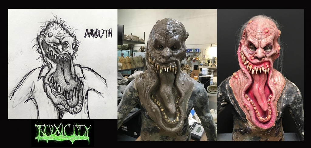 Toxicity mask from concept to finish