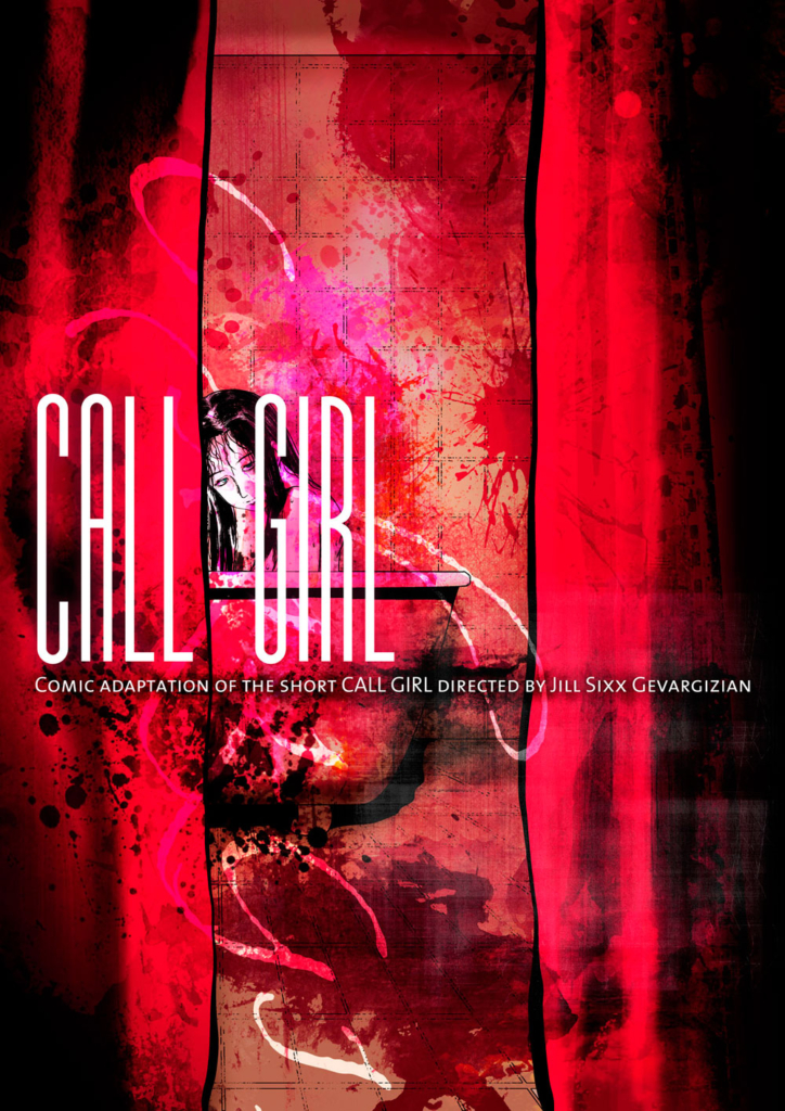 call-girl-comic-cover