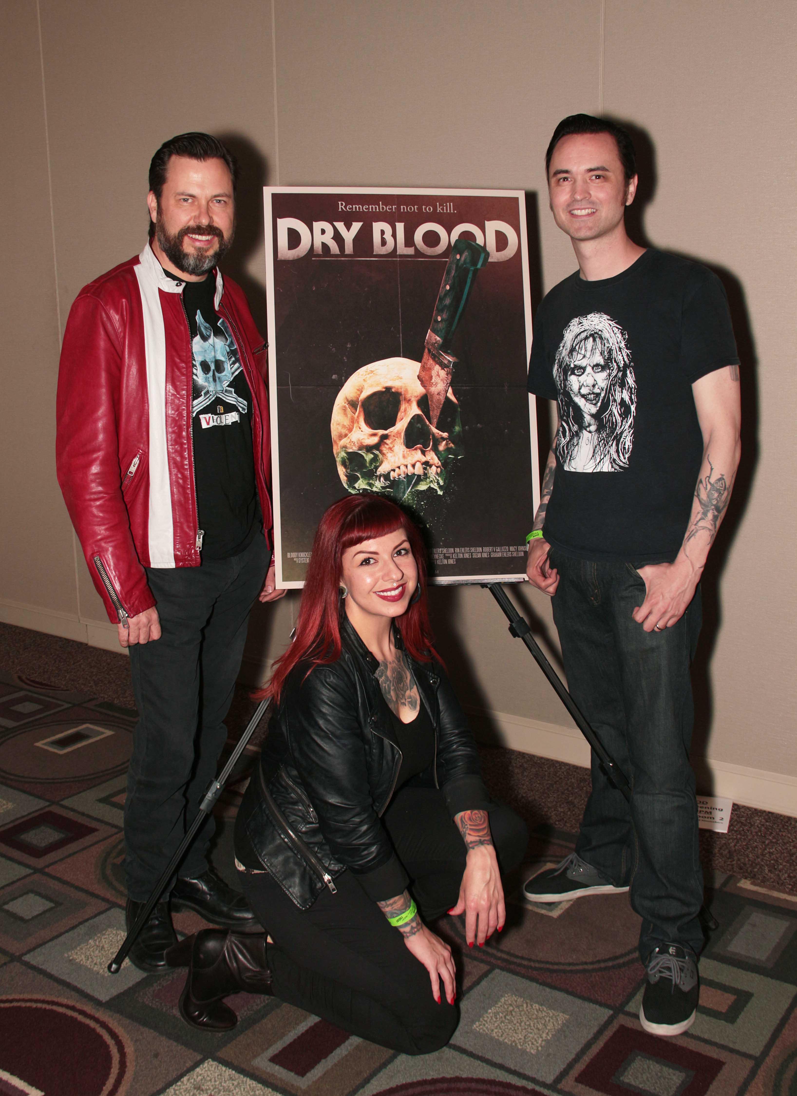 Kelton, Siuox, and Clint at Monsterpalooza