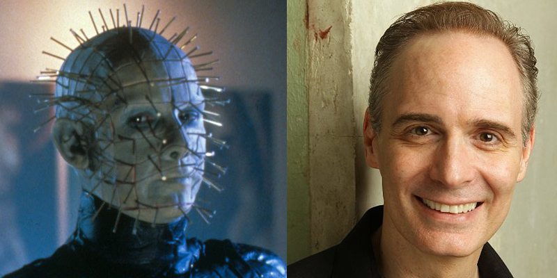Paul T. Taylor in the iconic role of Pinhead