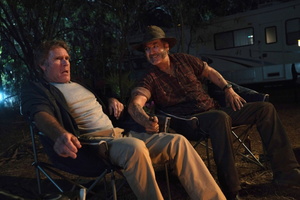 Wolf Creek Episode 1 Robert Taylor as Roland and John Jarratt as Mick Taylor