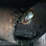 New Shot From the 'IT' Remake Stalks From The Sewers