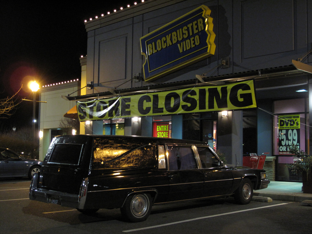 video store closing