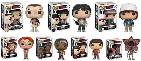 Stranger Things Pops