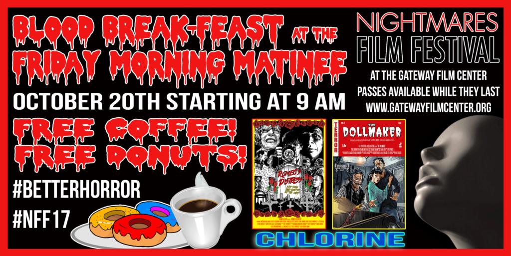 Nightmares Film Festival Blood Break-Feast