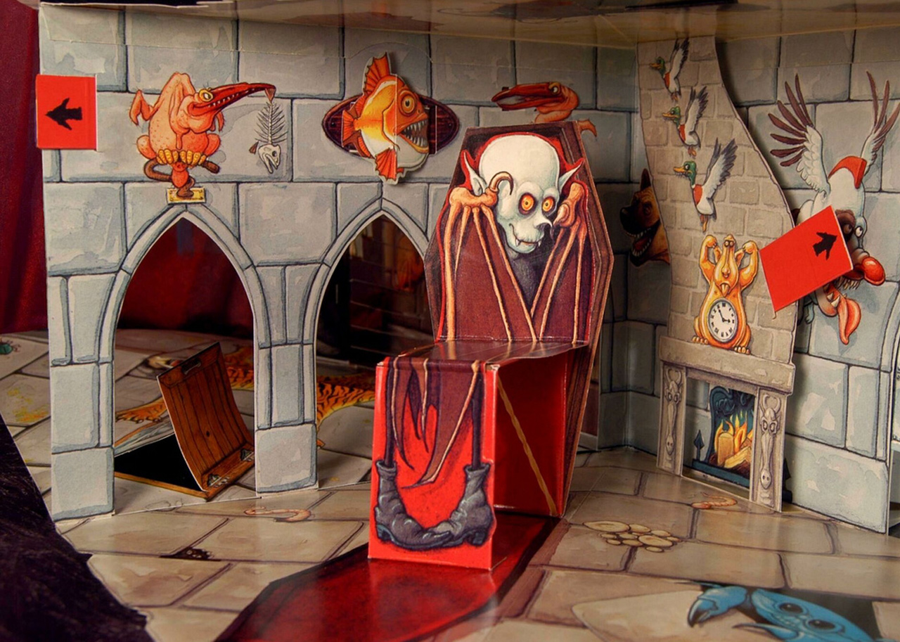 Haunted House Pop Up Books