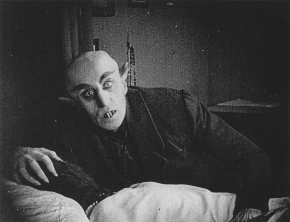 Max Shreck in Nosferatu