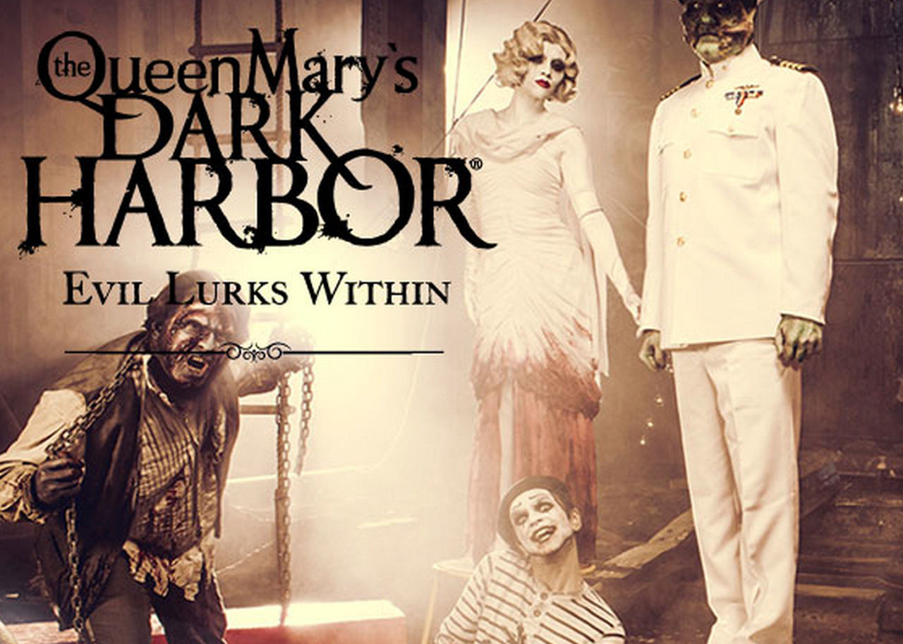 the queen mary has a secret: dark harbor 2017 — morbidly beautiful