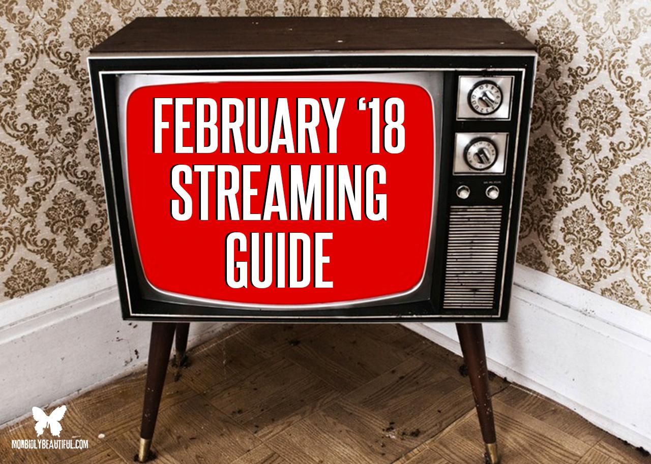 February 2018 Streaming Guide