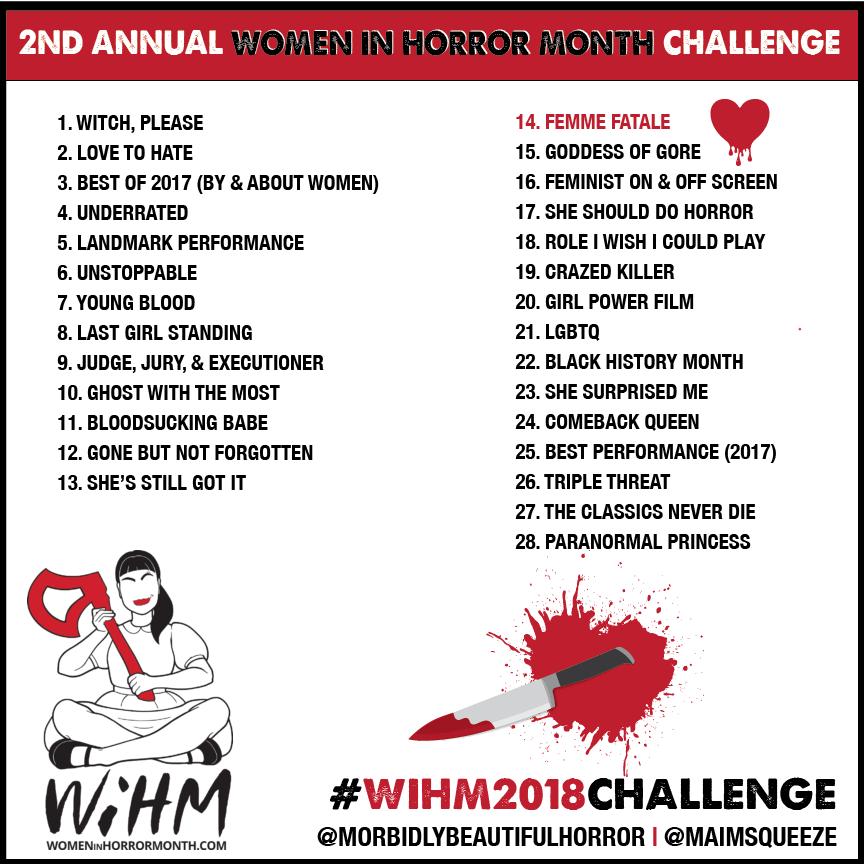 Women in Horror Instagram Challenge