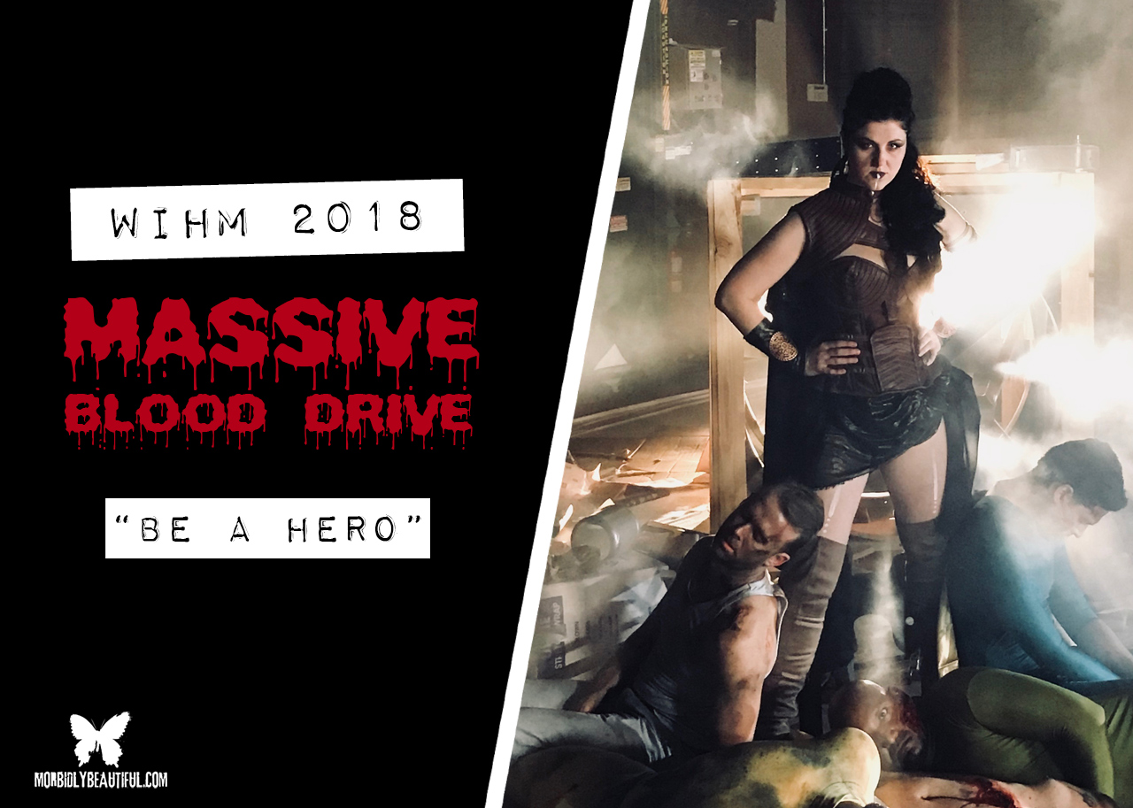 Blood Drive PSA Be a Hero