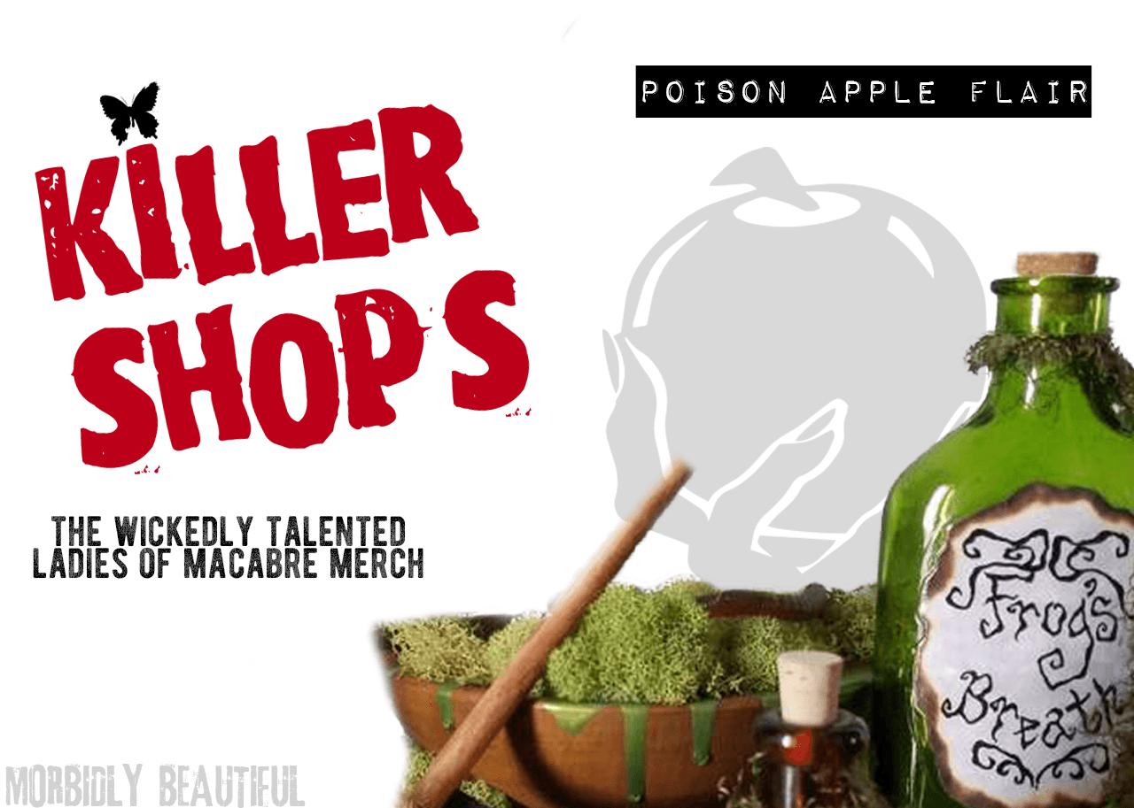 Poison Apple Flair