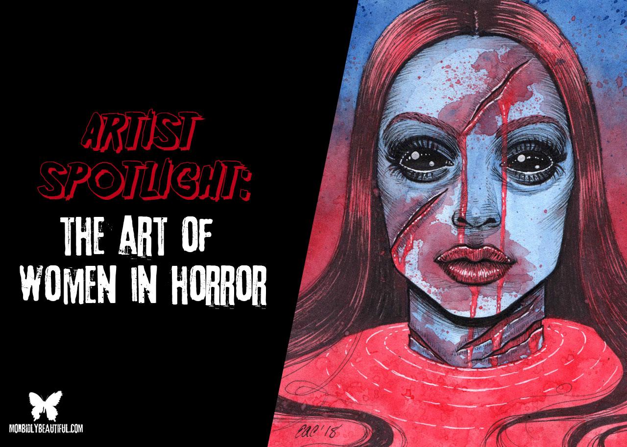 Women in Horror Art Spotlight