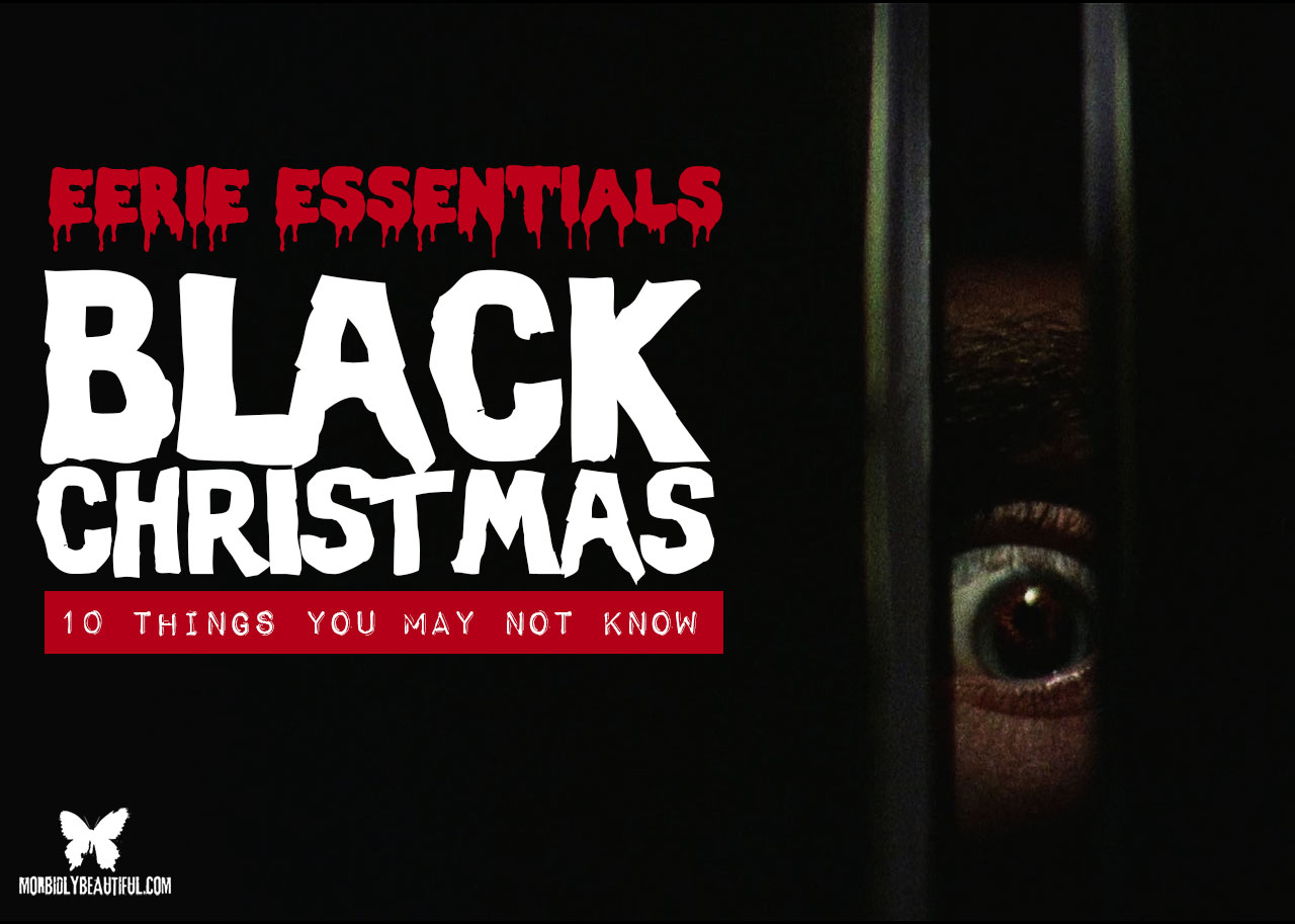 Eerie Essentials Black Christmas