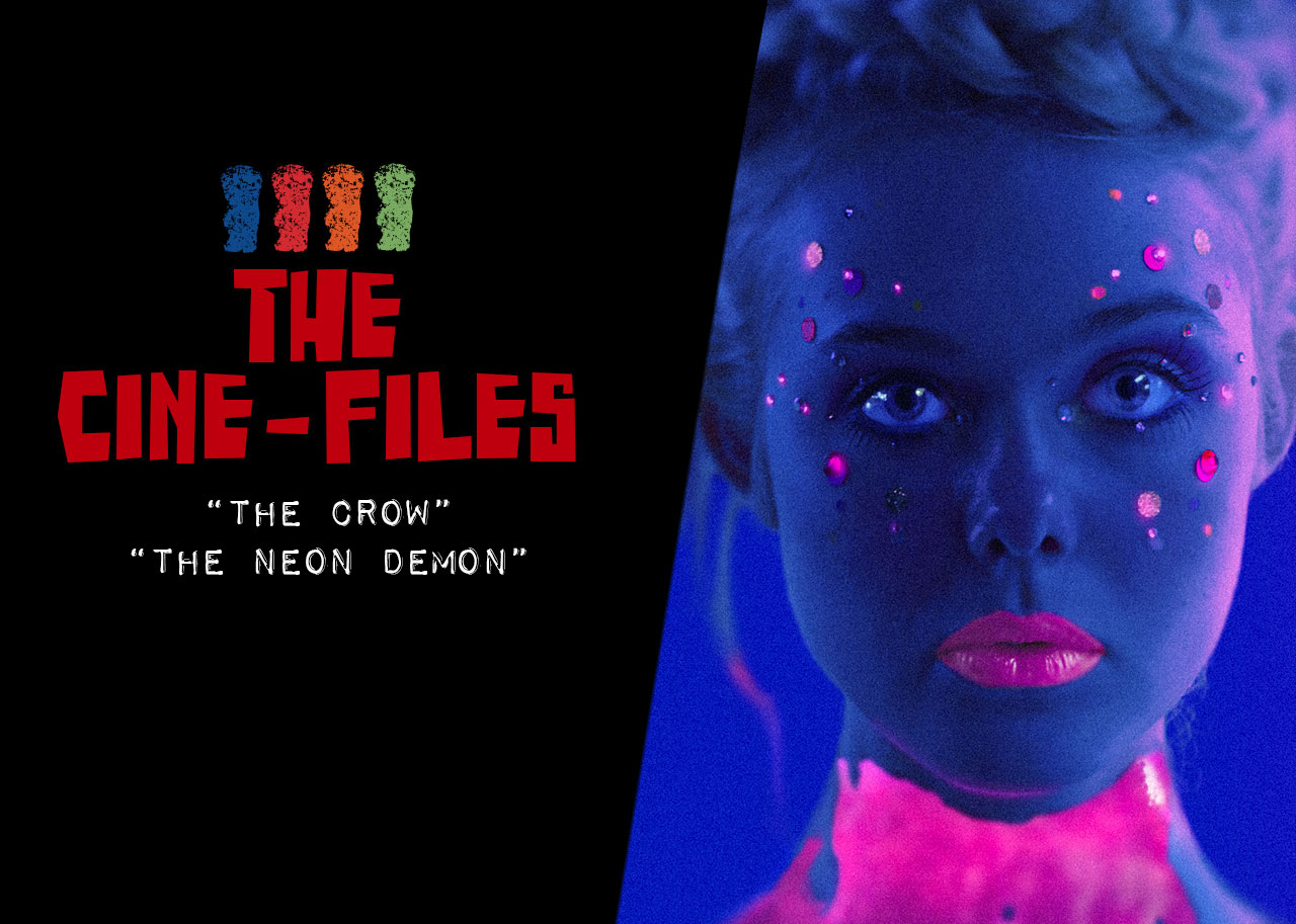 Cine Files The Crow and The Neon Demon