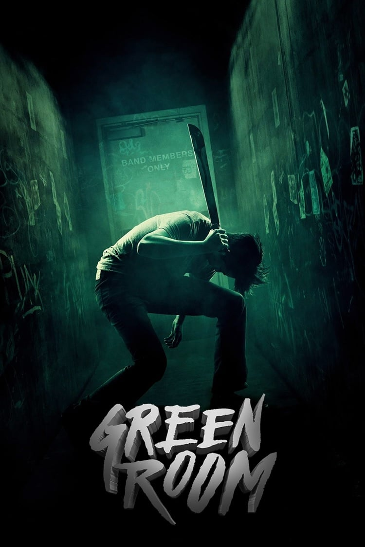 "Poster for the movie ""Green Room"""
