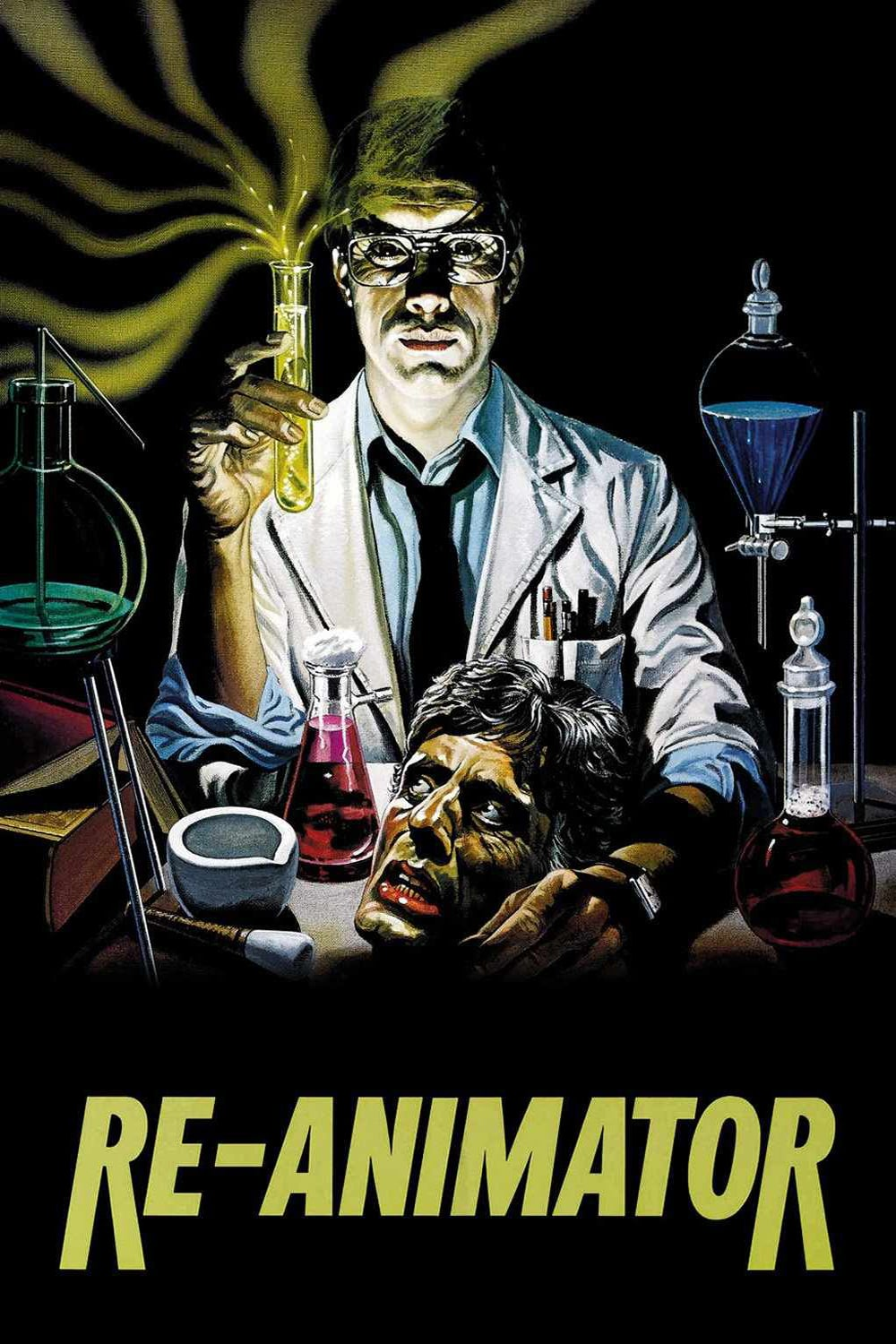 "Poster for the movie ""Re-Animator"""