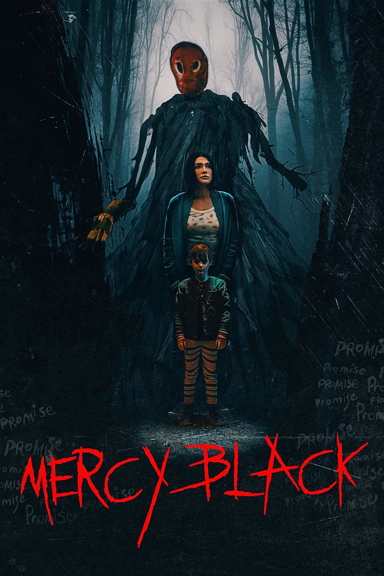 "Poster for the movie ""Mercy Black"""