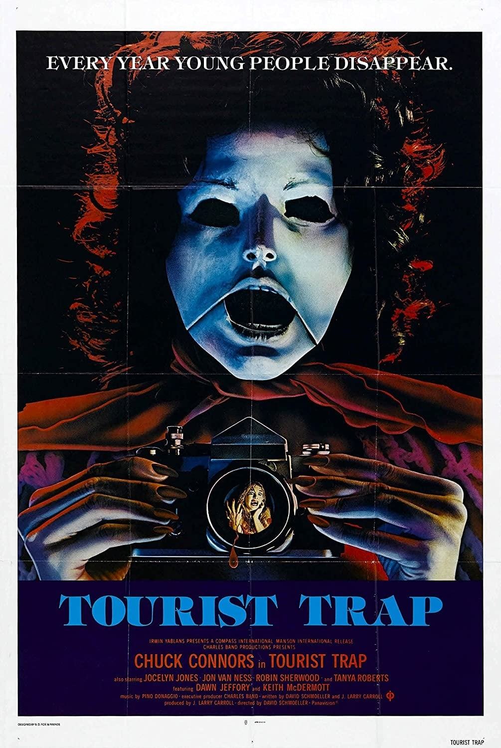 """Poster for the movie """"Tourist Trap"""""""