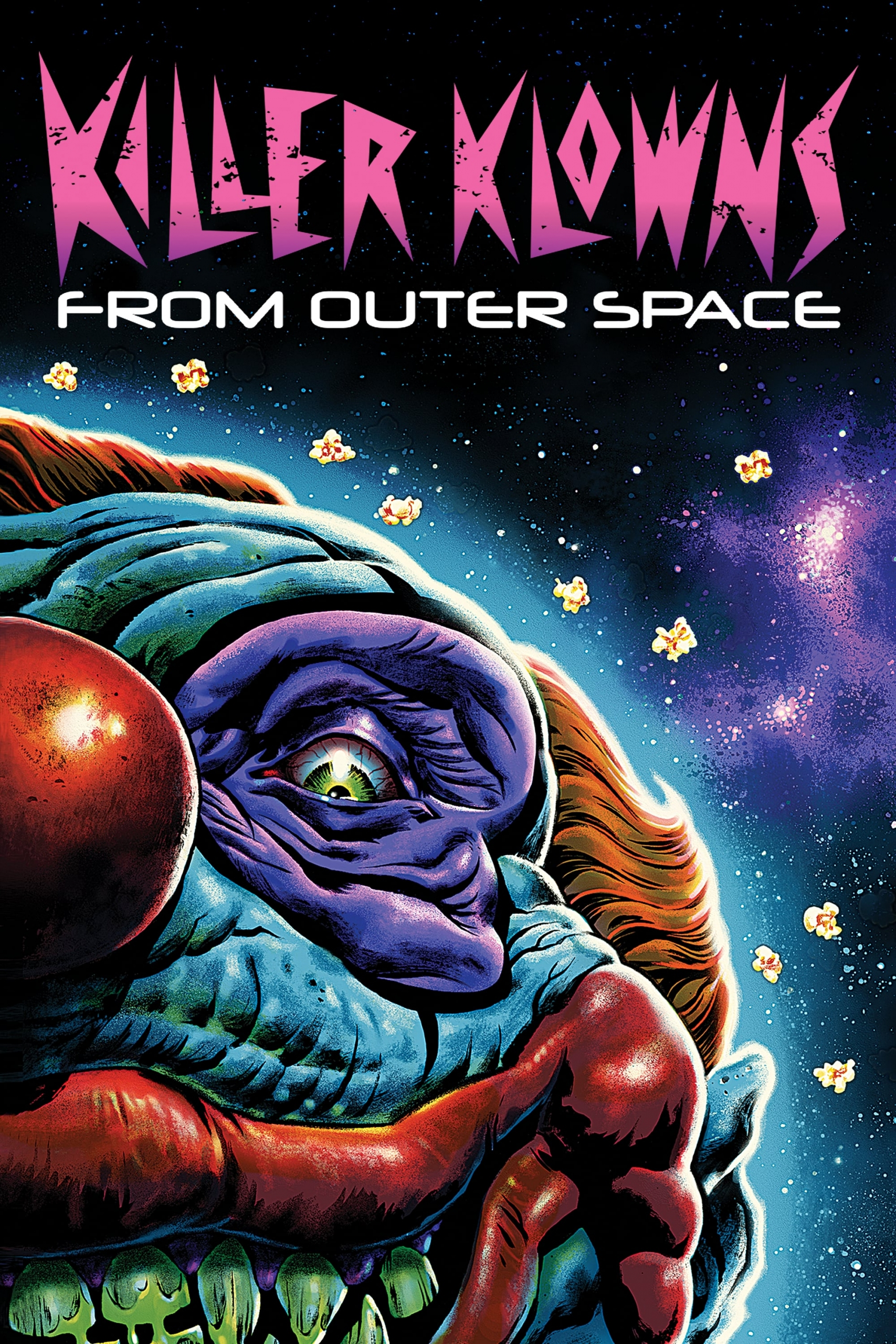 "Poster for the movie ""Killer Klowns from Outer Space"""