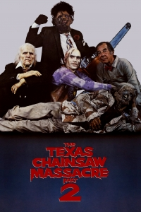 """Poster for the movie """"The Texas Chainsaw Massacre 2"""""""
