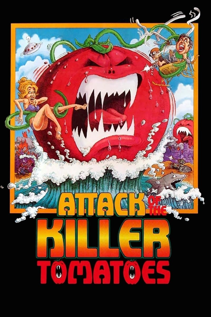 """Poster for the movie """"Attack of the Killer Tomatoes!"""""""