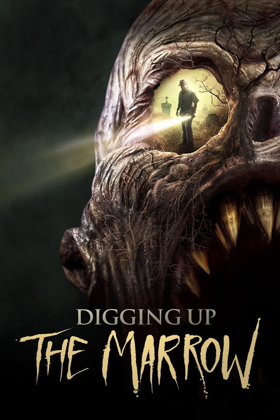 "Poster for the movie ""Digging Up the Marrow"""