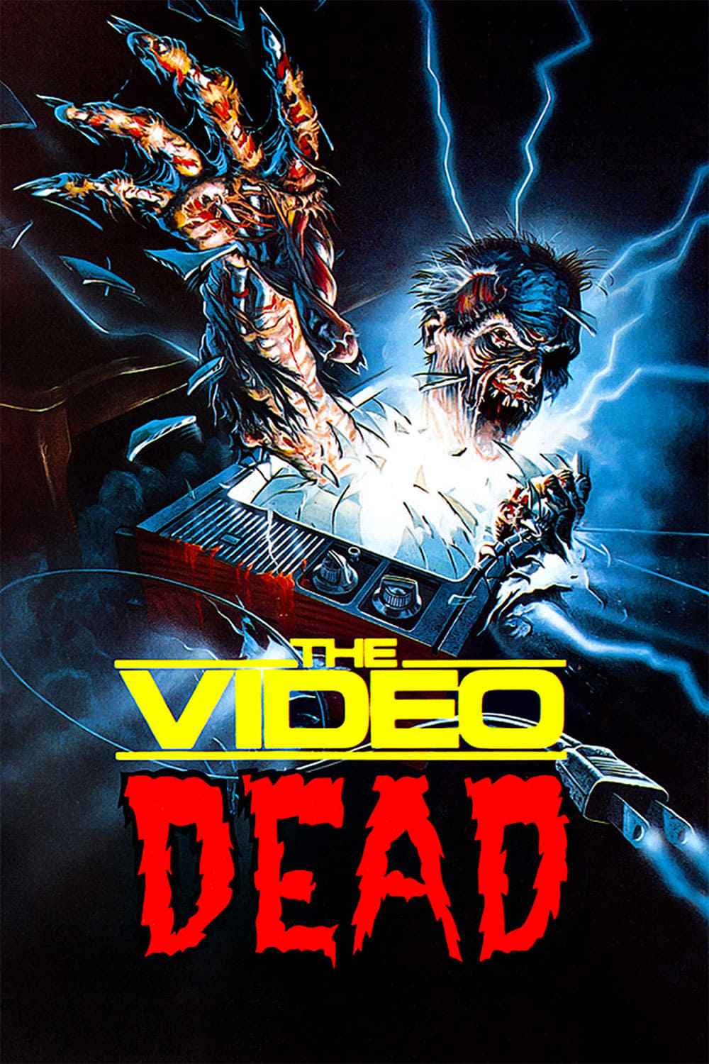 "Poster for the movie ""The Video Dead"""