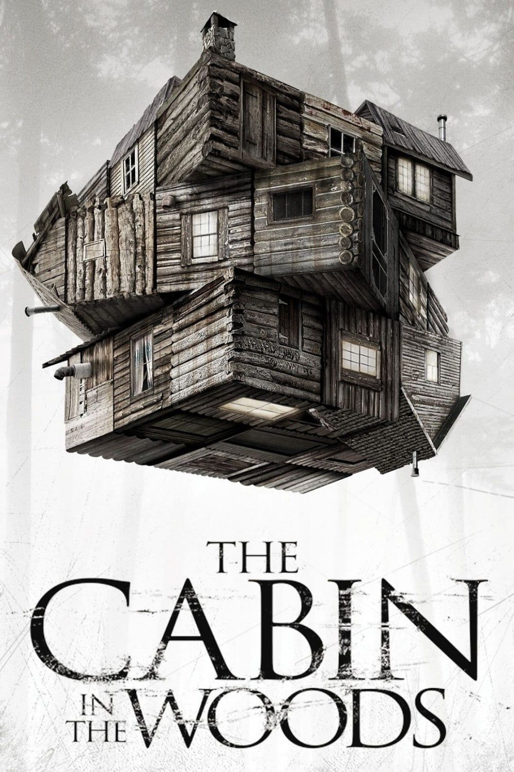 "Poster for the movie ""The Cabin in the Woods"""