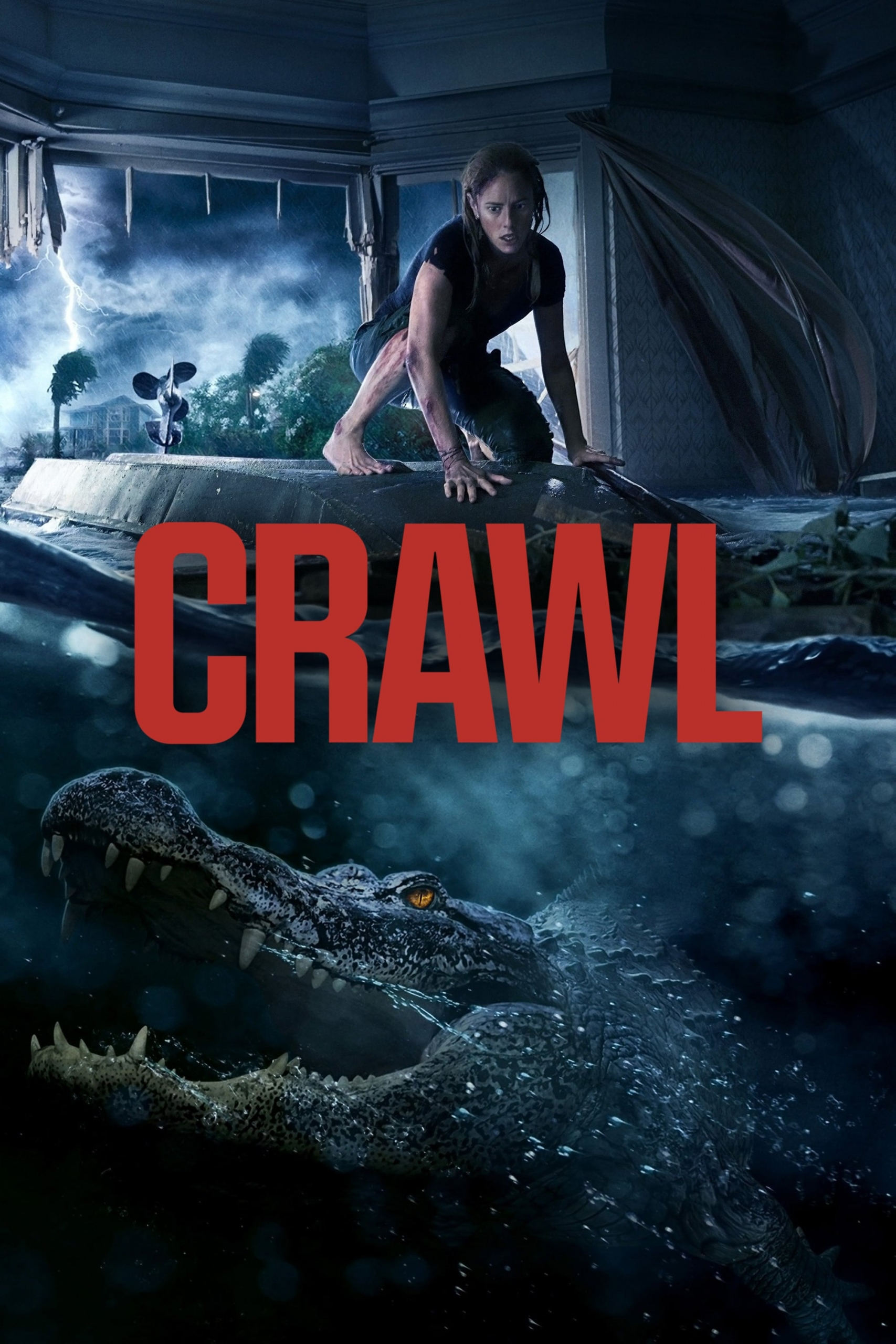 """Poster for the movie """"Crawl"""""""