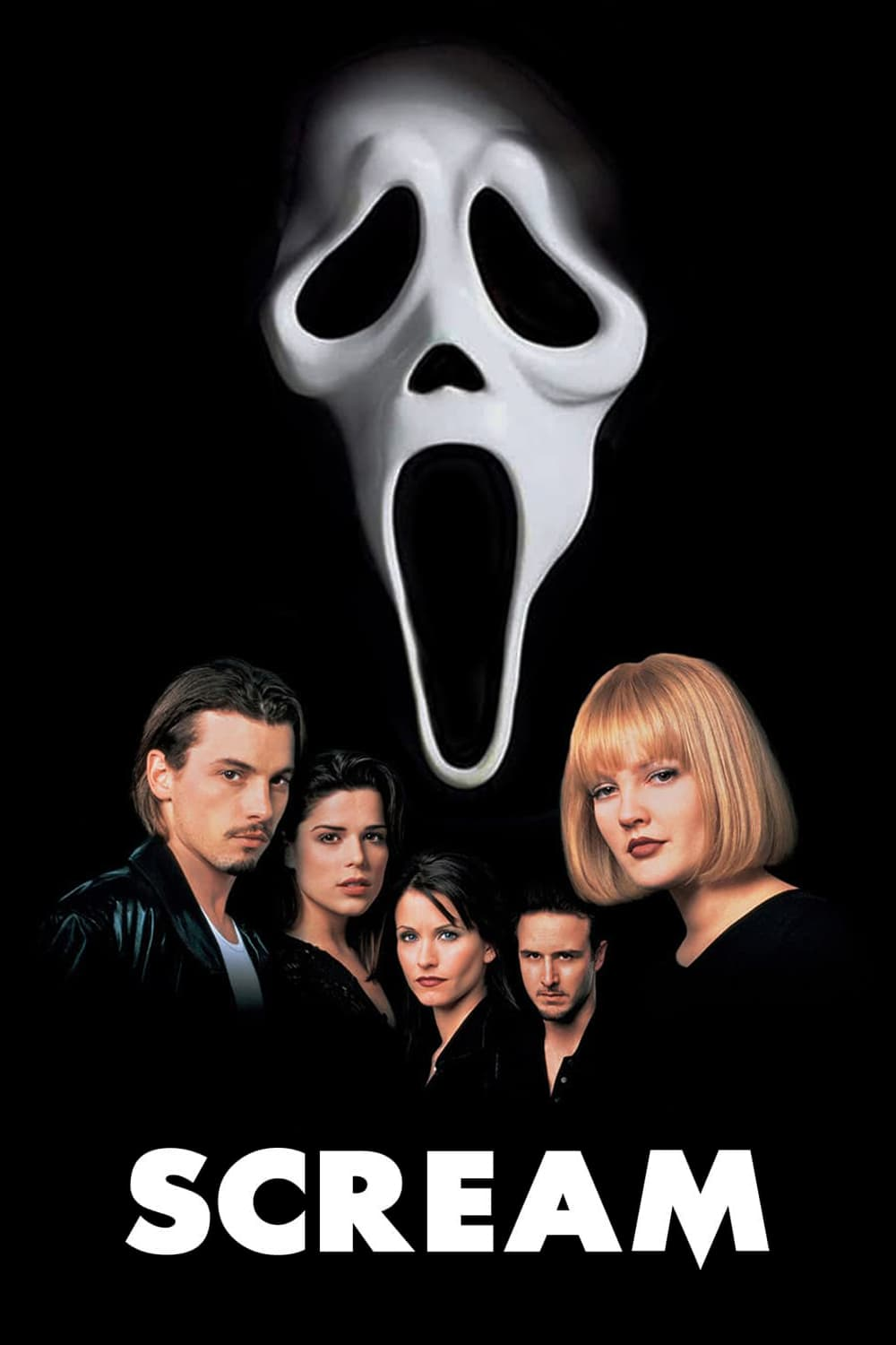 "Poster for the movie ""Scream"""