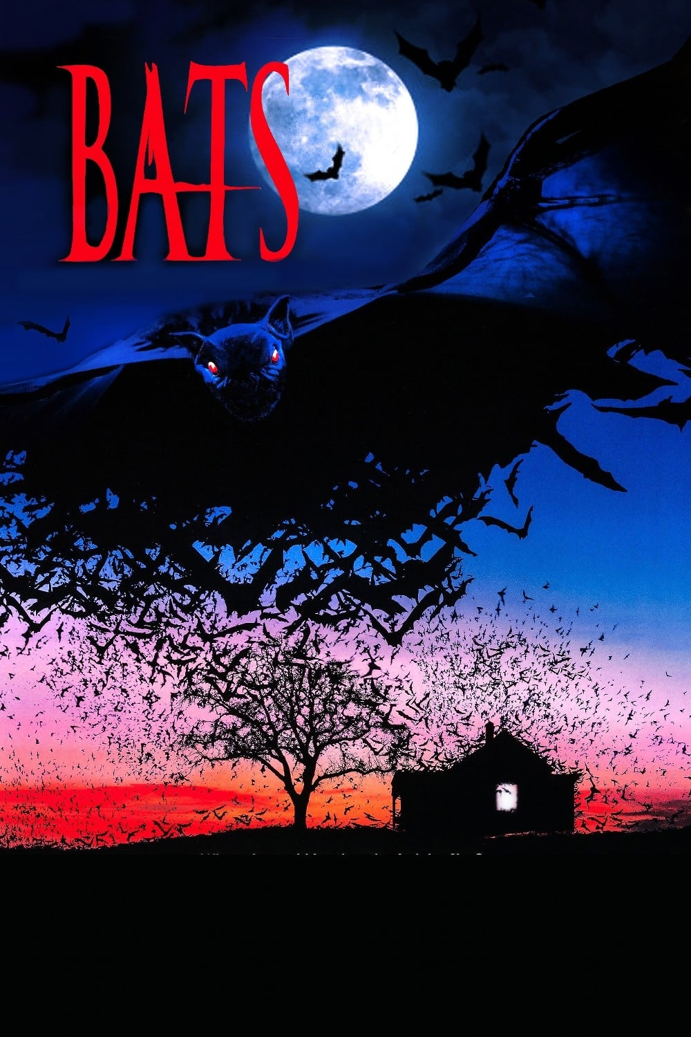 """Poster for the movie """"Bats"""""""