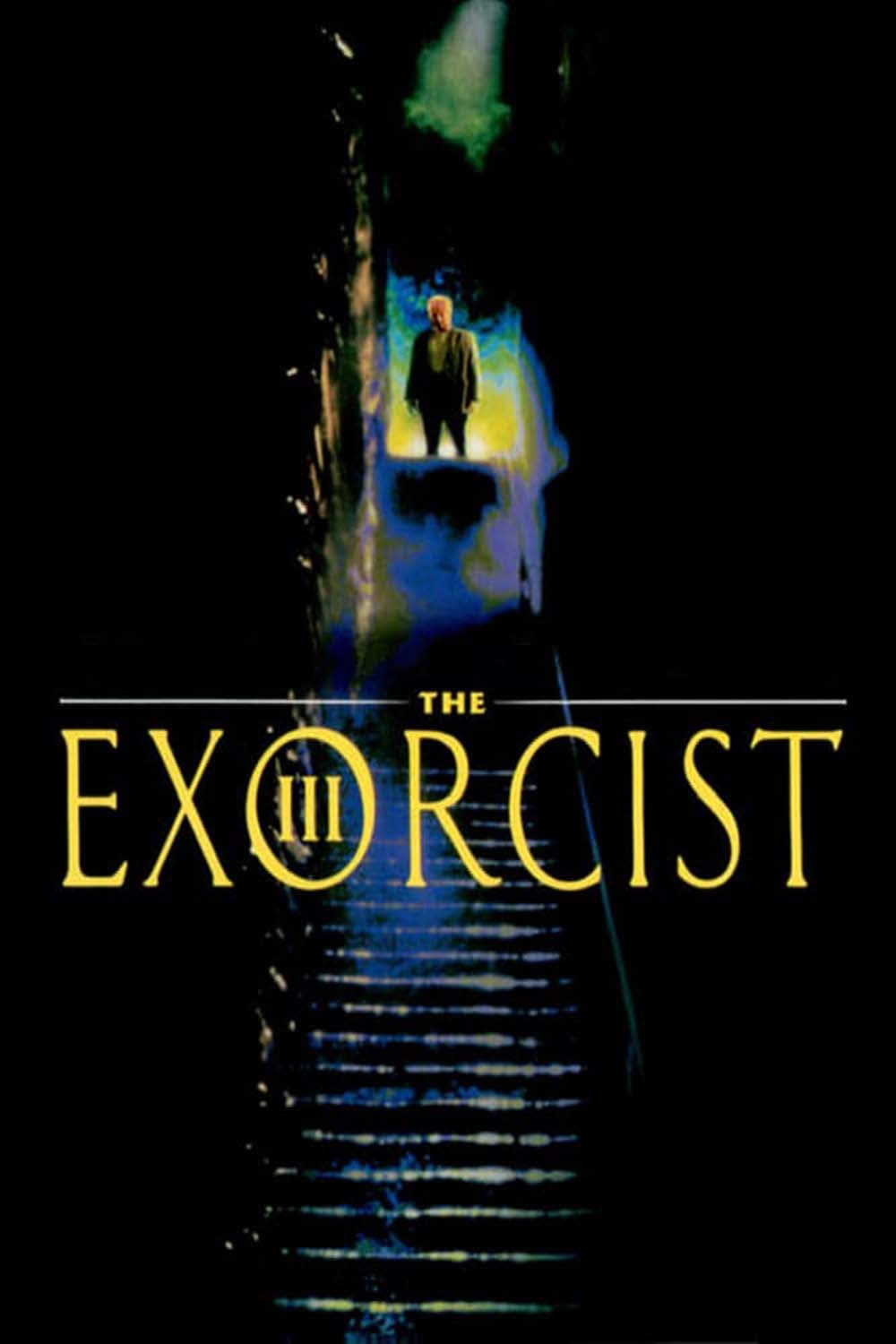 "Poster for the movie ""The Exorcist III"""