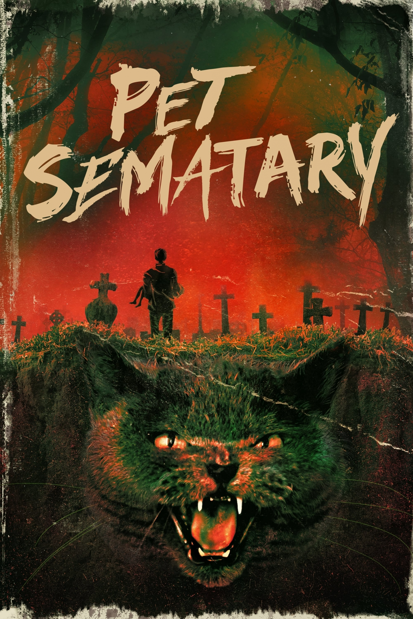 """Poster for the movie """"Pet Sematary"""""""