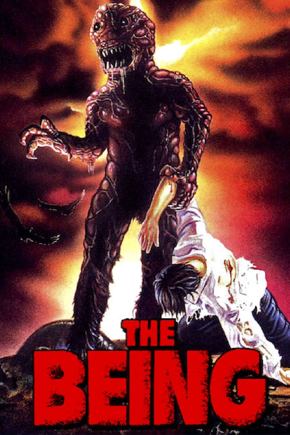 "Poster for the movie ""The Being"""