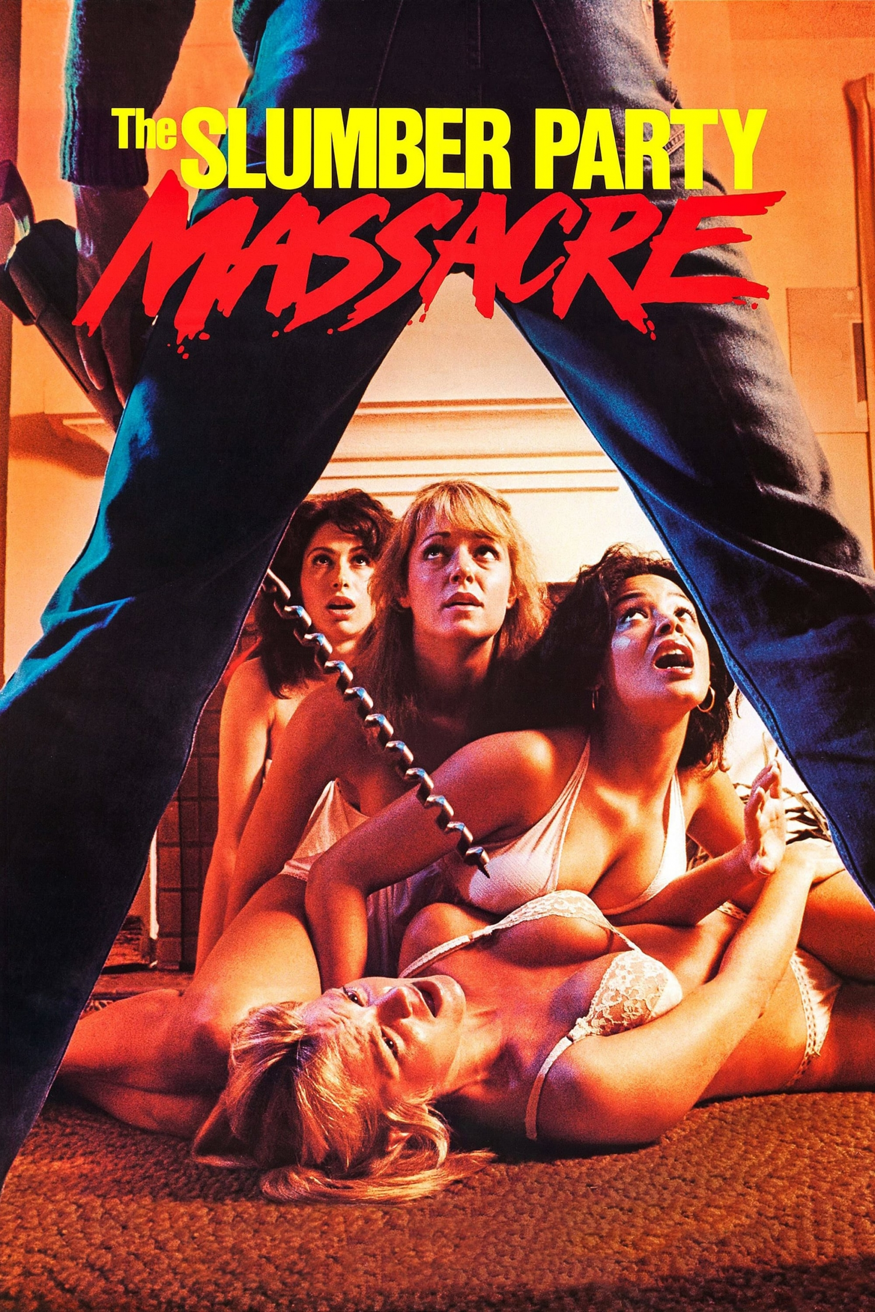 """Poster for the movie """"The Slumber Party Massacre"""""""