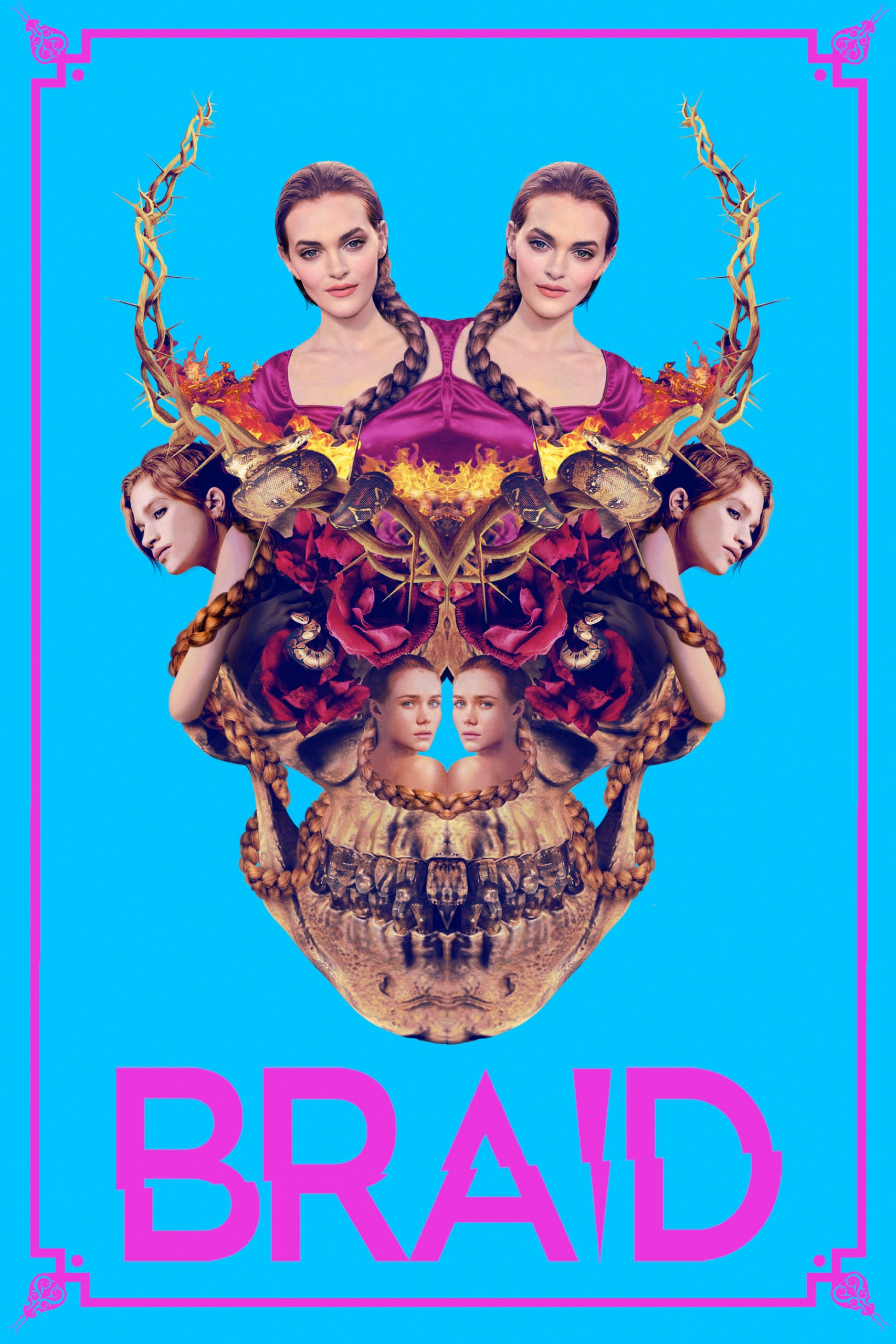 "Poster for the movie ""Braid"""