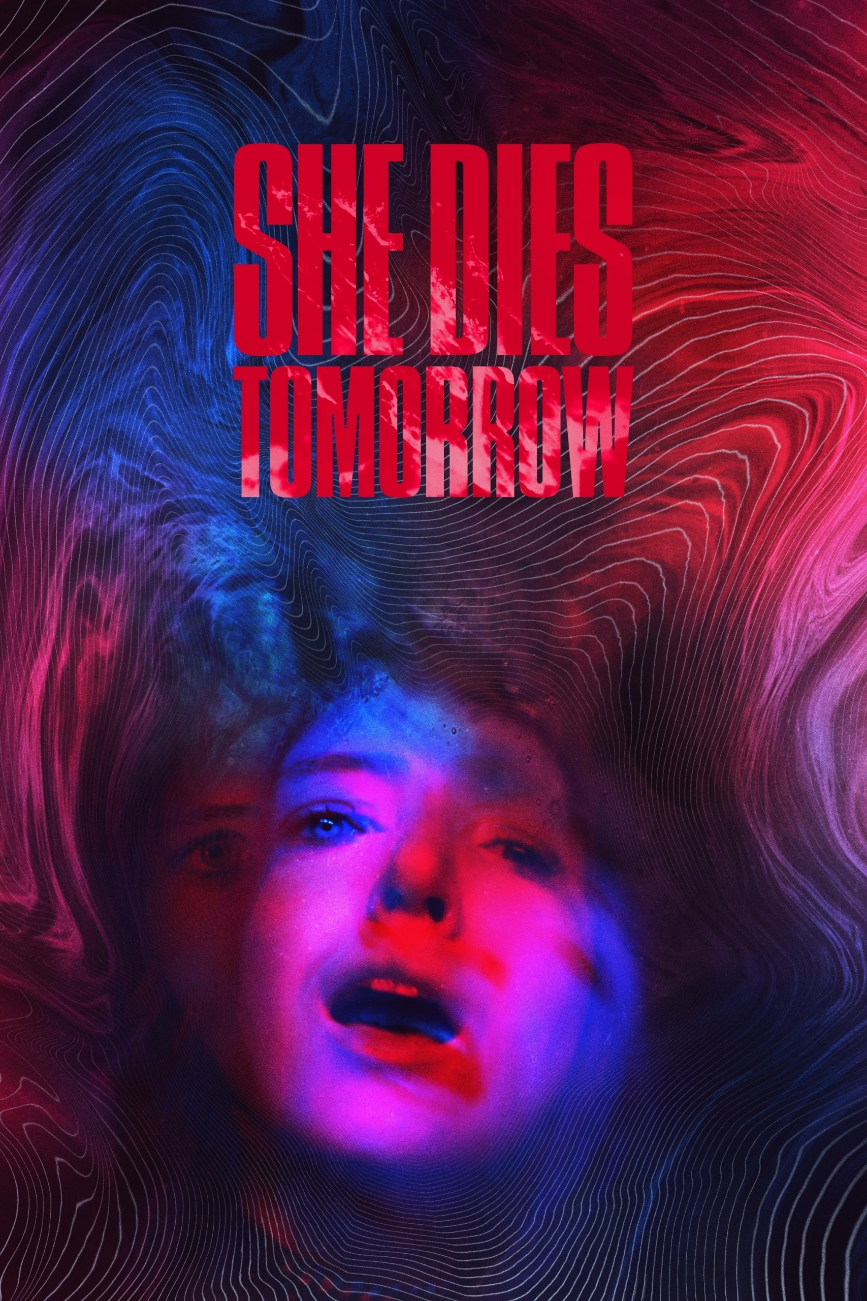 "Poster for the movie ""She Dies Tomorrow"""